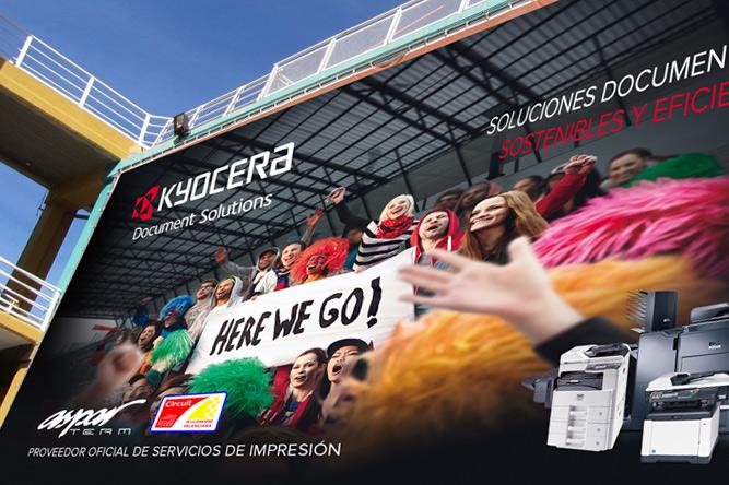 Branding Comunicacional para Kyocera