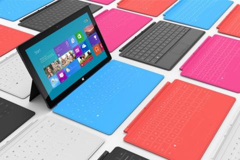 Campaña Lanzamiento Microsoft Surface