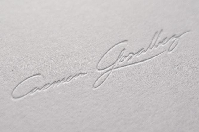 Branding Carmen Gosálvez