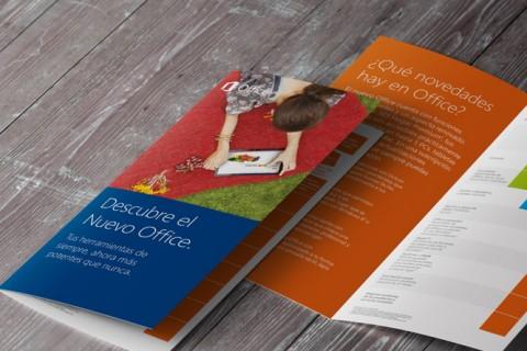 Campaña de lanzamiento Microsoft Office