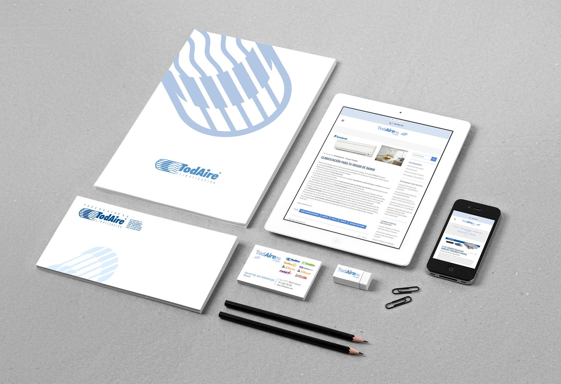 Creación y producción de entidad corporativa y mantenimiento de Blog de Noticias online.