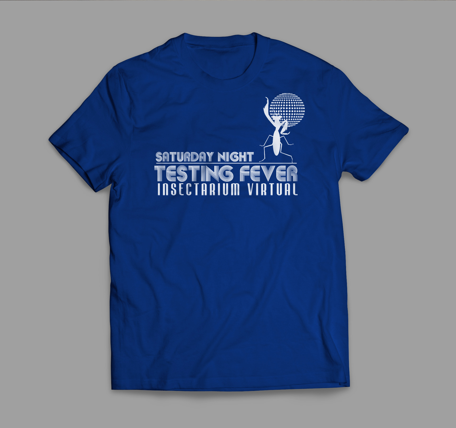 Diseño y producción de camisetas Testing Biodiversidad Virtual