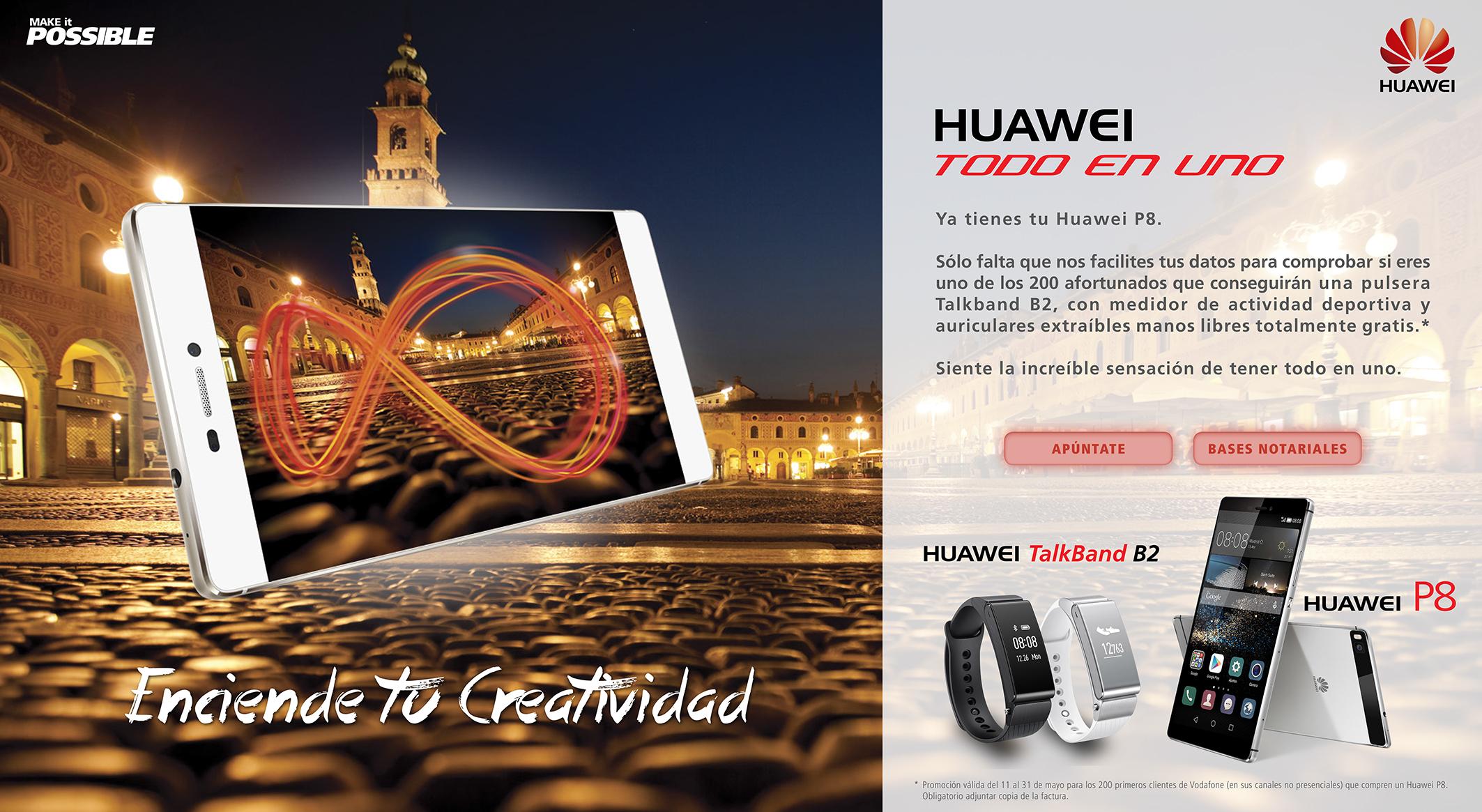 Huawei P8 Todo en uno