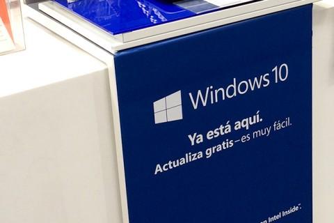 Piezas gráficas y PLV para Lanzamiento de Windows 10