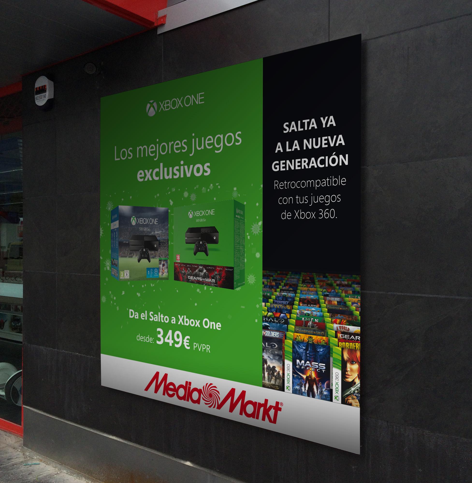 Cartelería centros Media Markt de toda España