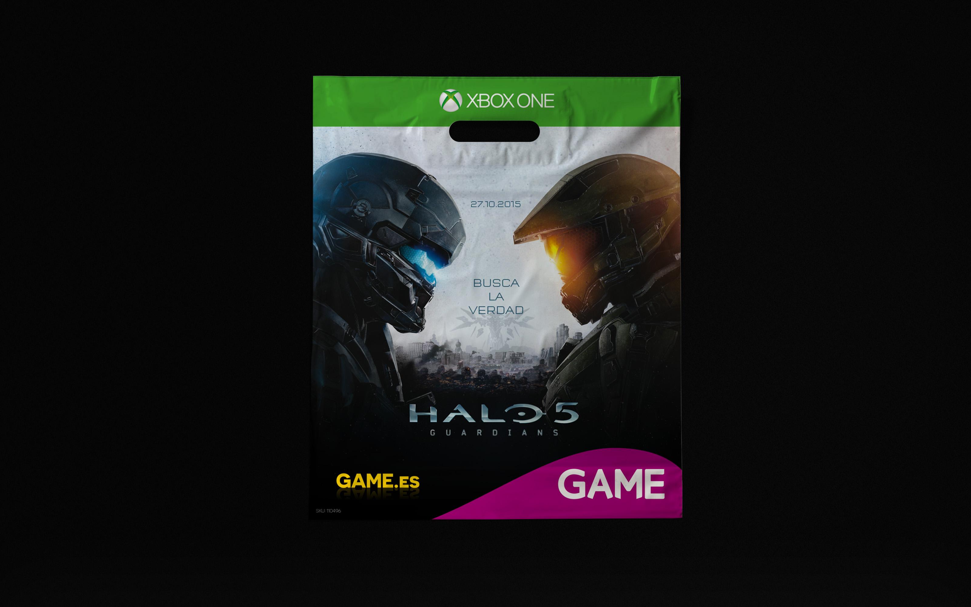 Bolsa Personalizada de Xbox One para Tiendas Game