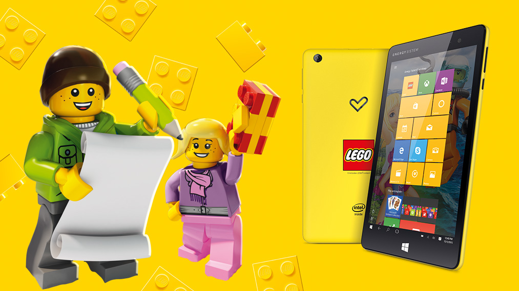 Tablet Lego de Energy Sistem