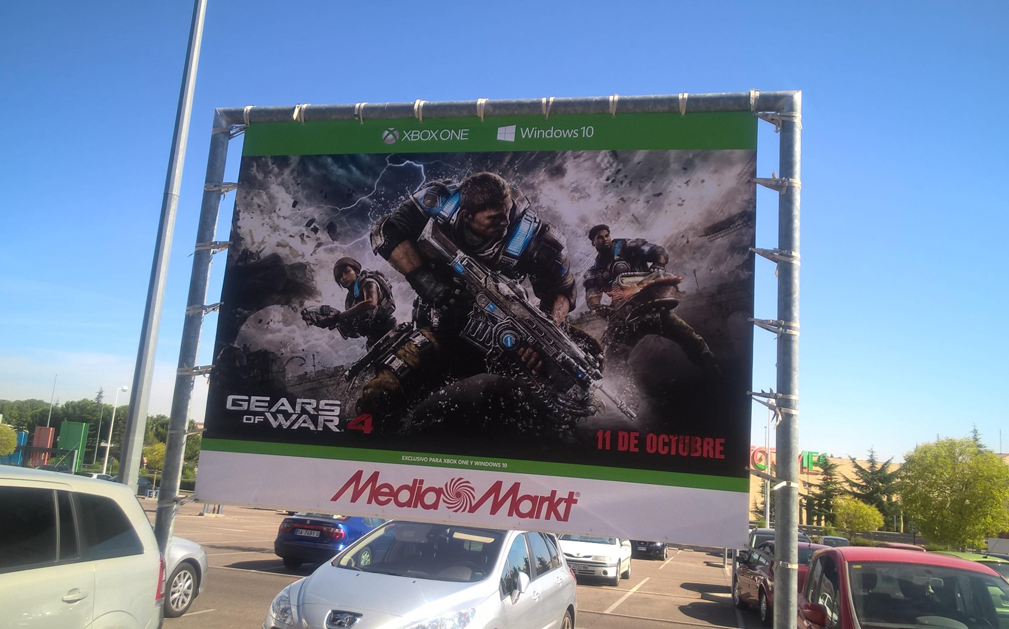 Cartel Gears of Wars Media Markt