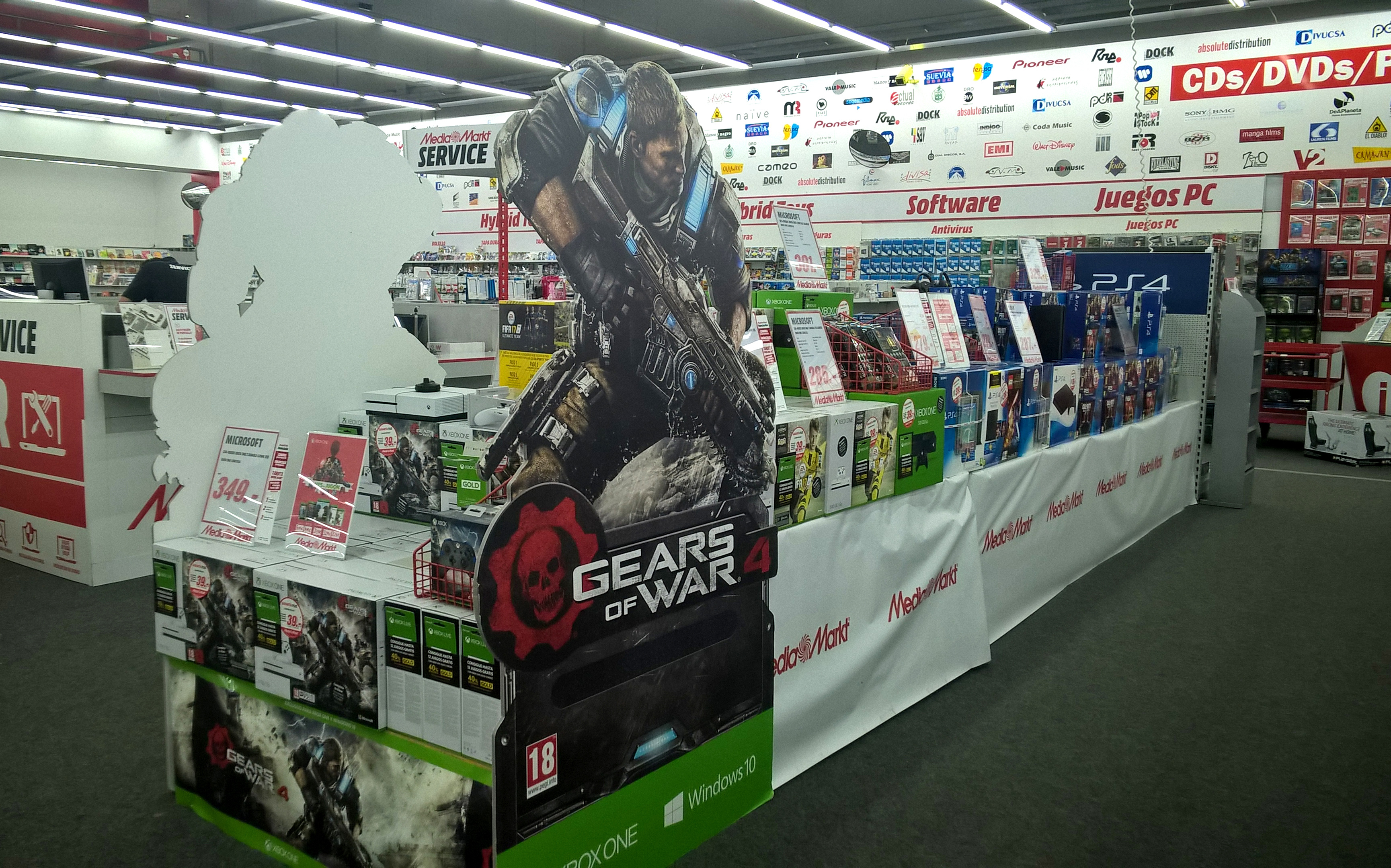 Corporeo Gears of Wars Media Markt