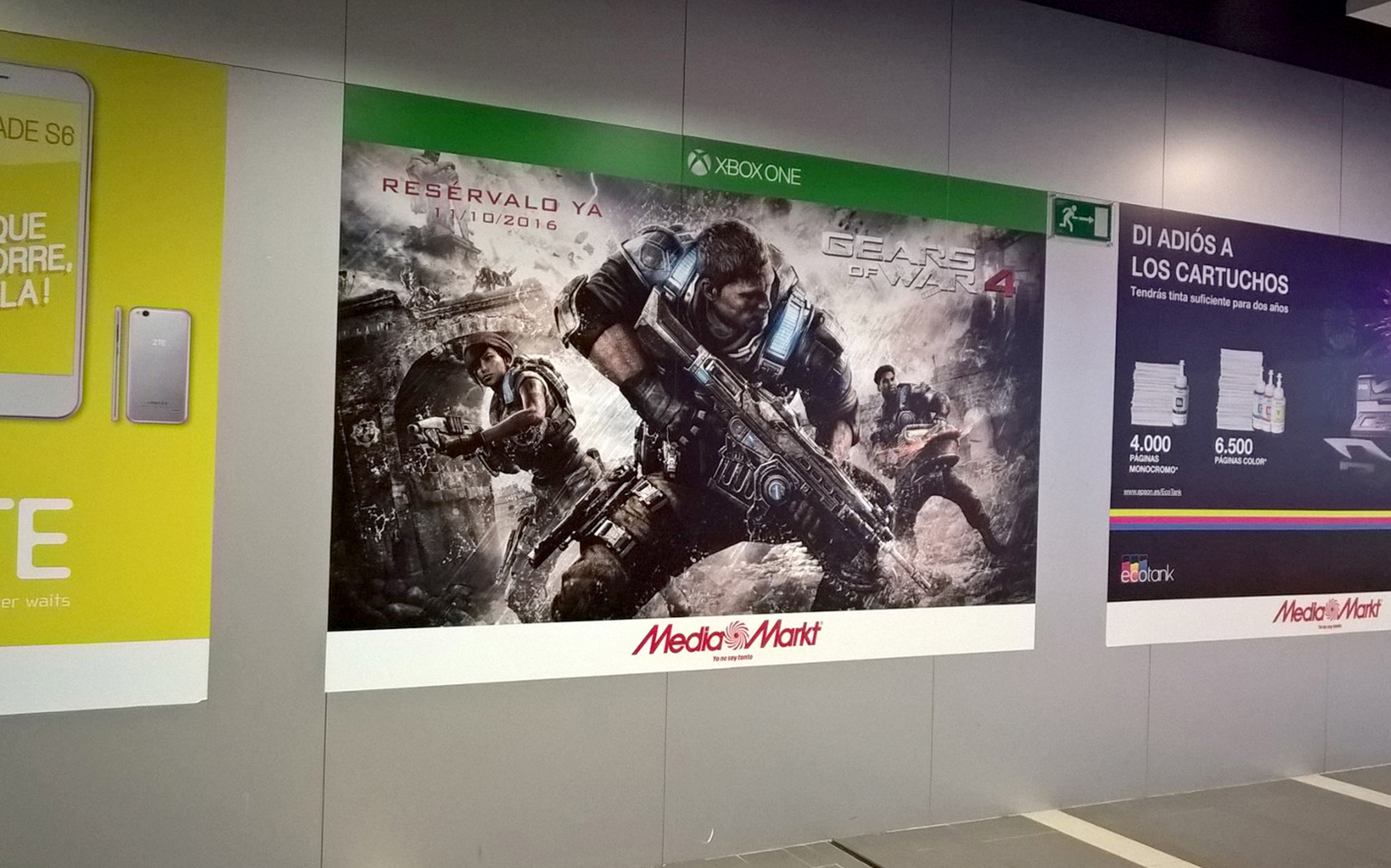 Cartel Gears of Wars Media Markt