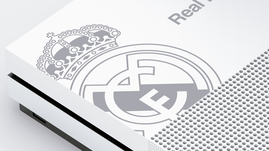 Xbox One S Real Madrid