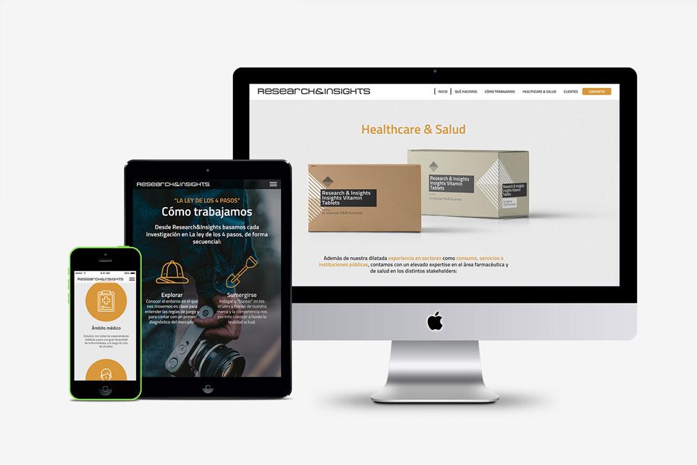 Creación de página web.